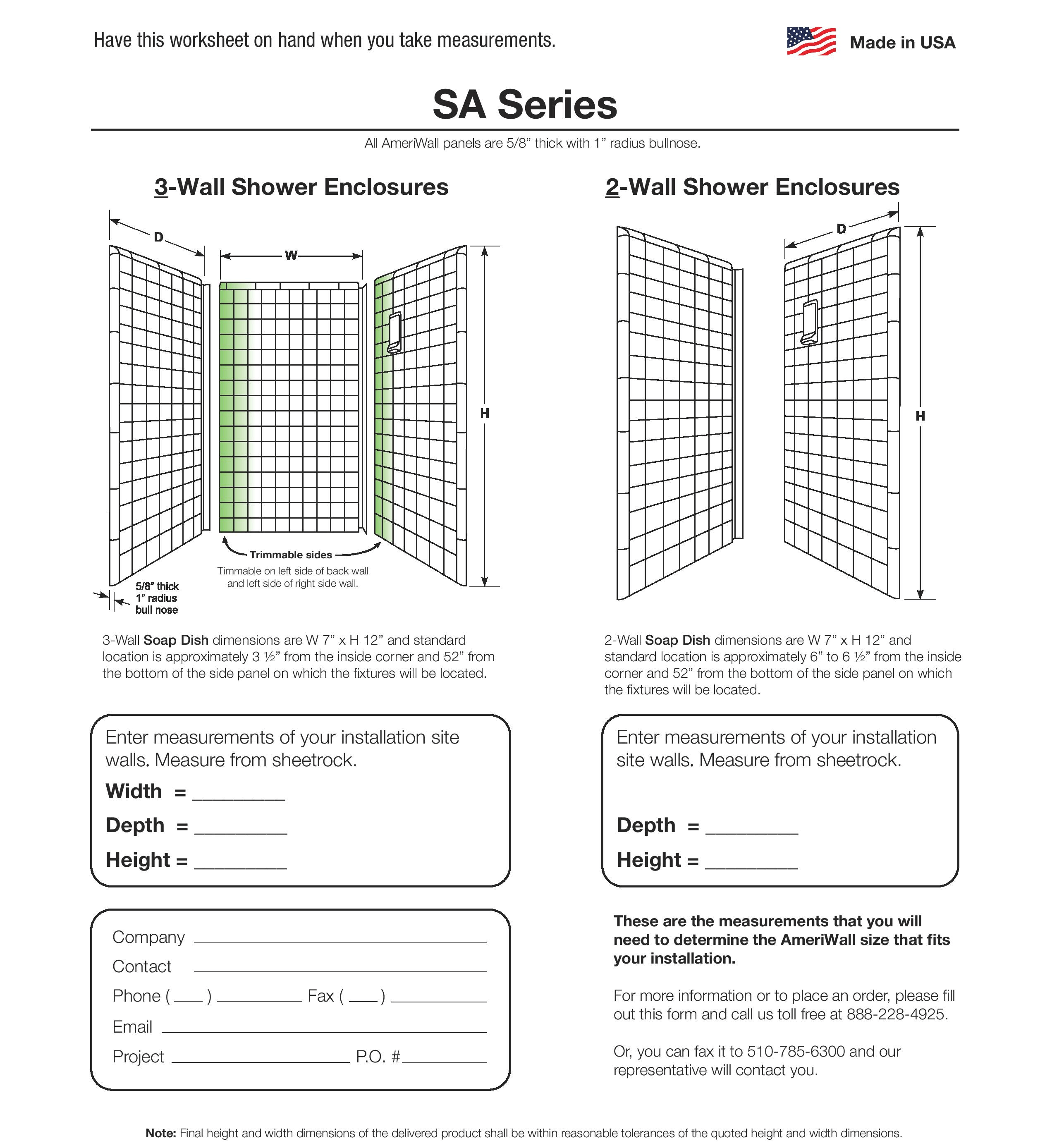 SA series enclosures