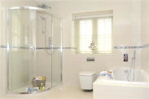Bathroom with Shower and Bathtub enclosure
