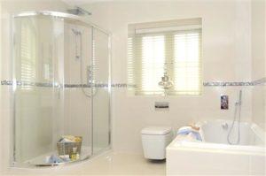 Bathroom with Shower and Bathtub enclosure
