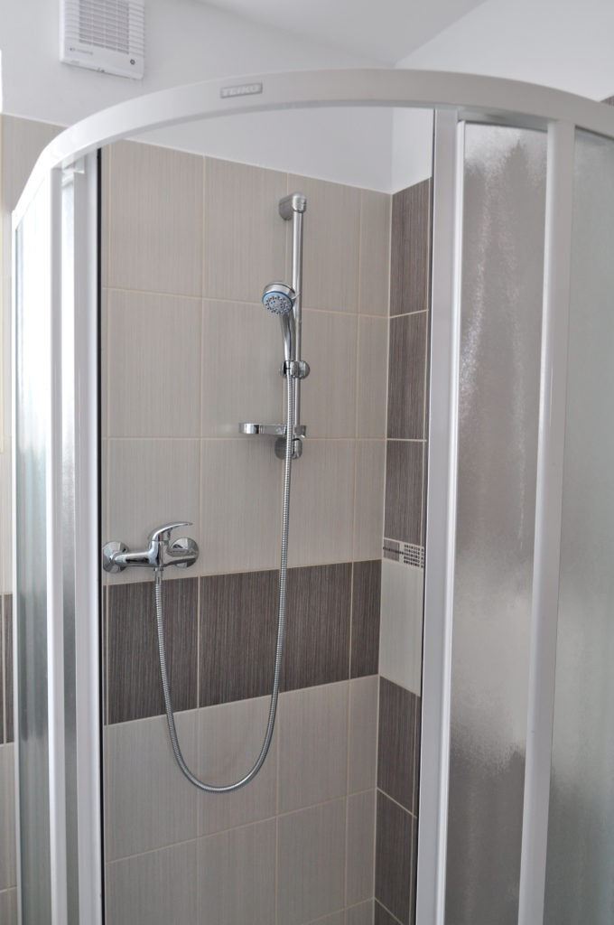New remodeled Shower in home bathroom