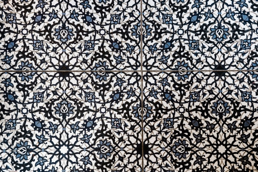 moroccan tile floor pattern